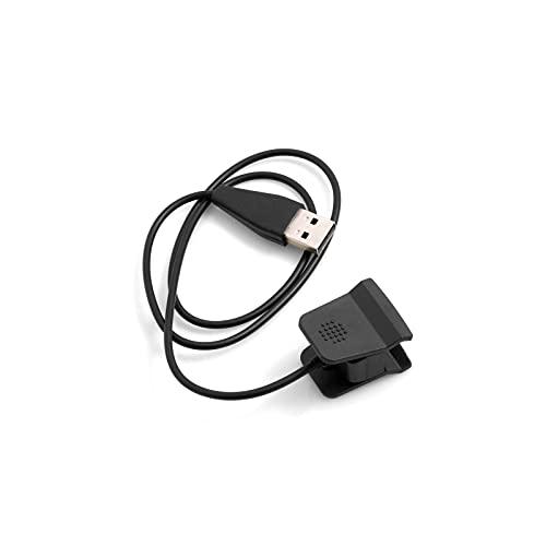 System-S Câble USB pour Fitbit Alta HR Noir 53 cm
