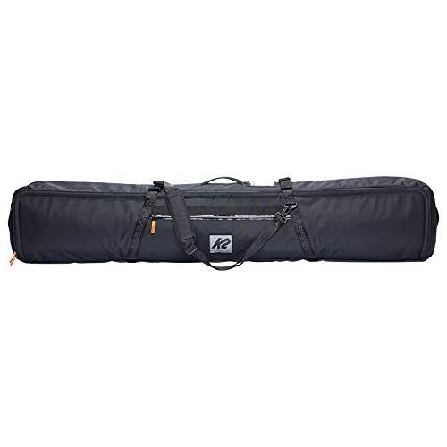 K2 Snow 20E5007 - Bolsa Acolchada para Tabla de Snowboard (158 cm), Color Negro