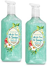 Bath and Body Works 2 Pack White Tea & Sage Creamy Luxe Hand Soap. 8 Oz.