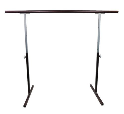 Softtouch Ballet Barre 5.5ft Portable Dance Bar - Adjustable Height 31' - 49' - Freestanding Stretch Barre 66'