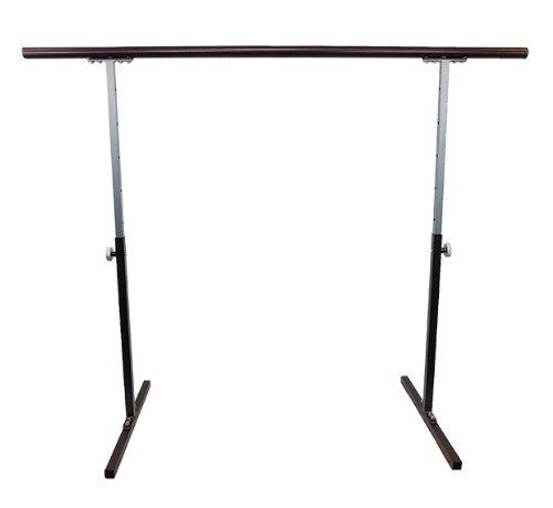 Softtouch Ballet Barre 5.5ft Portable Dance Bar - Adjustable...