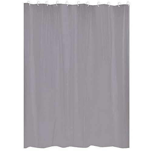 Gelco 3467937077920 Duschvorhang, grau, 180 x 200 cm