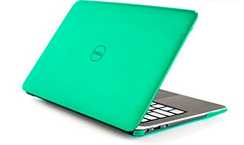 mCover Hard Shell Case for 13.3' Dell XPS 13 9343/9350/9360 model(released after Jan. 2015, not fitting older L321X / L322X / 9333 model released before Jan. 2015) Ultrabook laptop (Green)