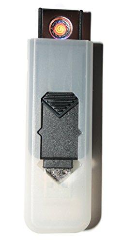 USB Smart Feuerzeug von Champ High Power Lange Lebensdauer Wiederaufladbare Zelle Keine Flamme Kein Gas Nachfüllbare Qualität Smart USB Igniter Black