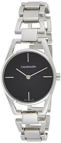 Calvin Klein Reloj Analogico para Mujer de Cuarzo con Correa en Acero Inoxidable K7L23141