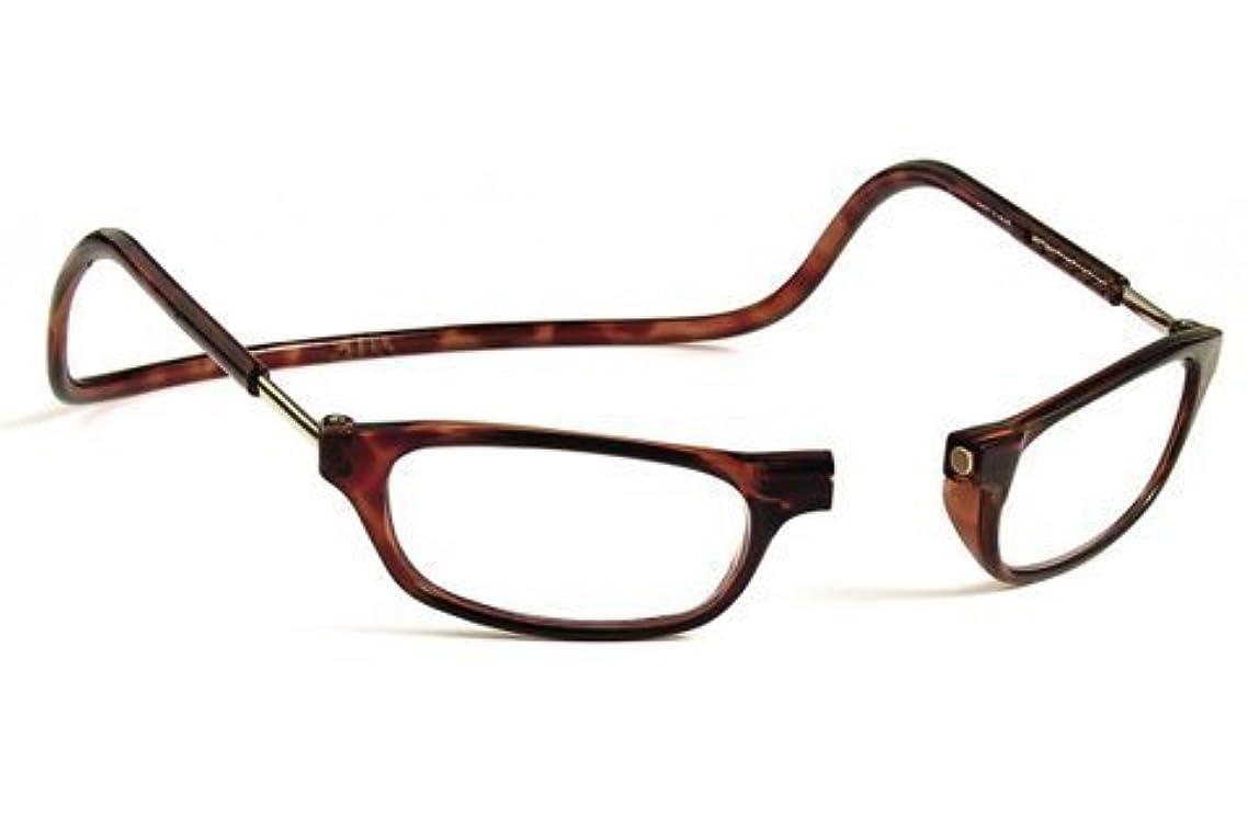 Clic Magnetic Reading Glasses Tortoise +1.50
