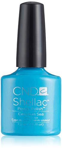 CND Shellac Be Demure Gel nagellak Cerulean Sea Cerulean Sea (Paradise Collection)