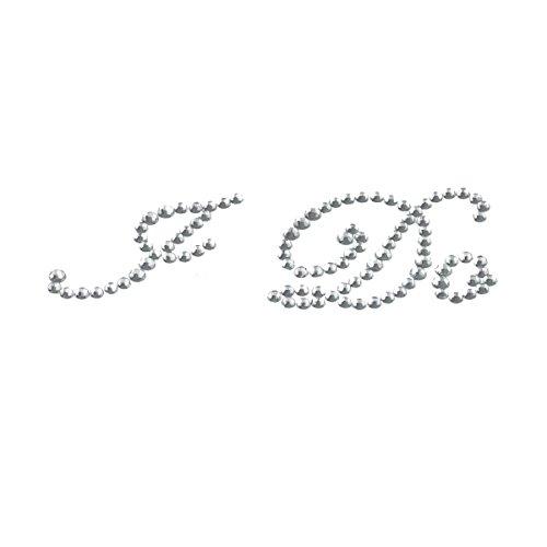 Premier Design XSS01 Autocollant pour chaussures de mariage inscription Je le veux Transparent cristal