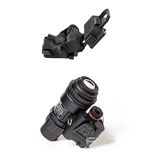 FMA Tactical GPNVG18 DUMMY - Gafas de visión nocturna y soporte de plástico para casco L4G19 NVG