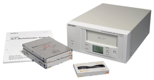 Sony 192GB DDS3 8Cart Autoloader EXT with Veritas Server Trial 8Carts CBL