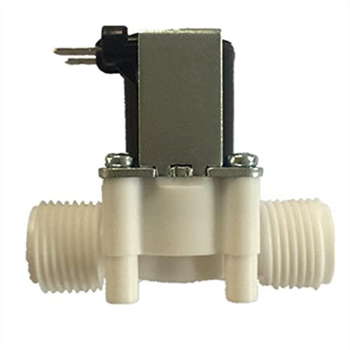 YMBHUO Válvula de Control de Volumen de Agua 1/2'Válvula de plástico 5V / 12V 24V 36/110 / 220V Dispensador de Lavadora Agua Controlador de presión neumática Interruptor (Size : DC 5V)