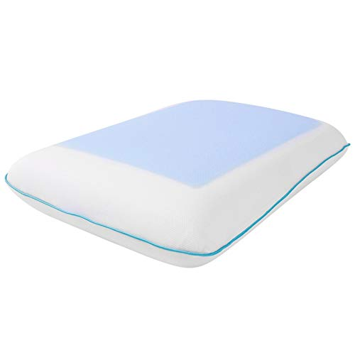 Gel Pillow, Design Memory Sleeping Pillow, Ergonomic Design Breathable Office for Home