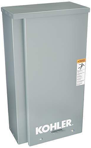 Kohler RXT-JFNC-0200A 200 Amp Whole-House Indoor/Outdoor-Rated Automatic Transfer Switch