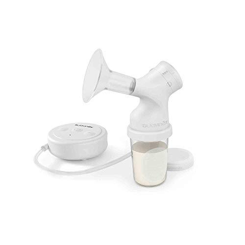 Suavinex - Pack Extractor eléctrico de leche materna con tetina anticólicos Zero Zero + 3 Bolsas almacenaje con tapón + Tarro almacenaje. Sacaleches eléctrico