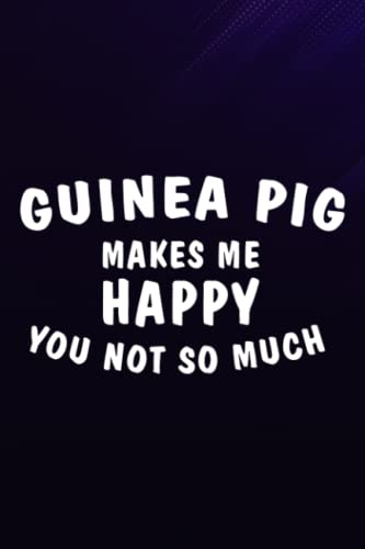 Chess Tactic Journal - Guinea Pig Meme Makes Me Happy Cavy Clothes Outfit Gift Meme: Guinea Pig, Notebook to Improve and Analyze Strategy and ... 6″ x 9″, 110 Pages 'Chess Score Books & J