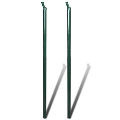 Set 2 puntoni pour clôture 175 cm. Ce Set de puntoni pour clôture en fer de haute qualité, fonctionnel avec piliers, sert parfaitement de structure fixe et stable