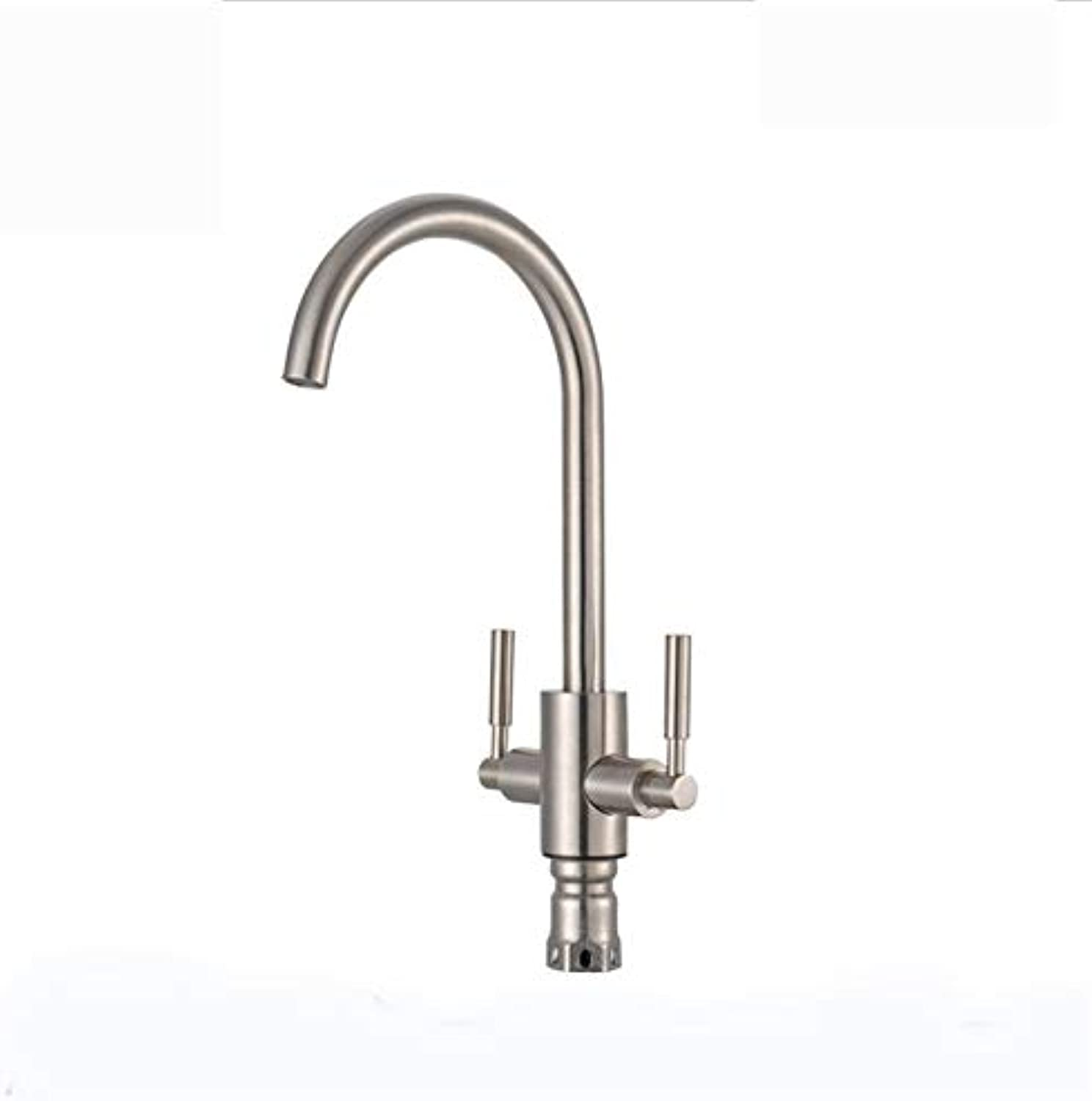 redOOY Taps 304 Stainless Steel Kitchen Faucet Sink Sink Brushed Faucet