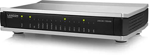 LANCOM 1793VAW Business-VoIP-Router (EU) mit VDSL2/ADSL2+-Modem, ISDN-VoIP- & Analog-Wandlung, IEEE 802.11ac/n WLAN (867/300 Mbit/s), IPSec-VPN (5 Kanäle/optional 25), 2x ISDN (TE/NT + NT), 4x analog