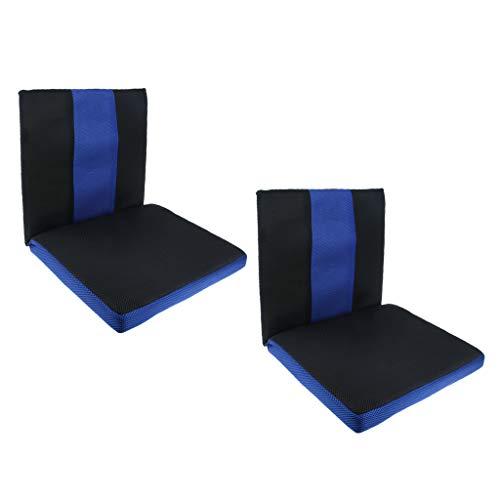 Homyl 2x Kissen Klemmkissen Sitzkissen Bankkissen mit Rückenlehne Hilft bei Symptomen von Steißbein Steißbeinverletzun