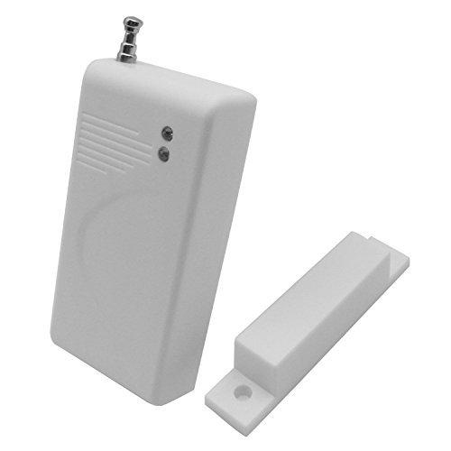 iZtouch - Sensor de contacto magnético inalámbrico para puerta o ventana, 433 MHz GSM, sistema de alarma de seguridad para el hogar, oficina, accesorios para cámara IP inalámbrica de 433 MHz
