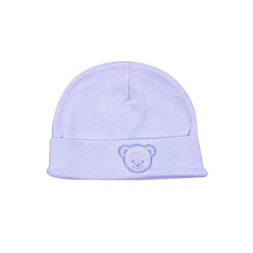 Bonnet coton brodé - King Bear