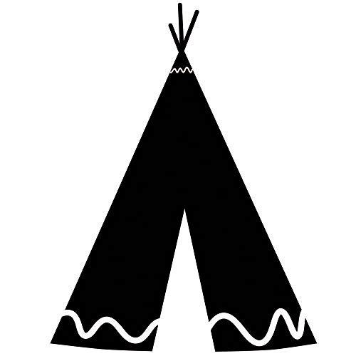 Ajcwhml Indische Zelt wandaufkleber abnehmbare Vinyl wandtattoos spielzimmer wandaufkleber kinderzimmer Dekoration 38X50 cm