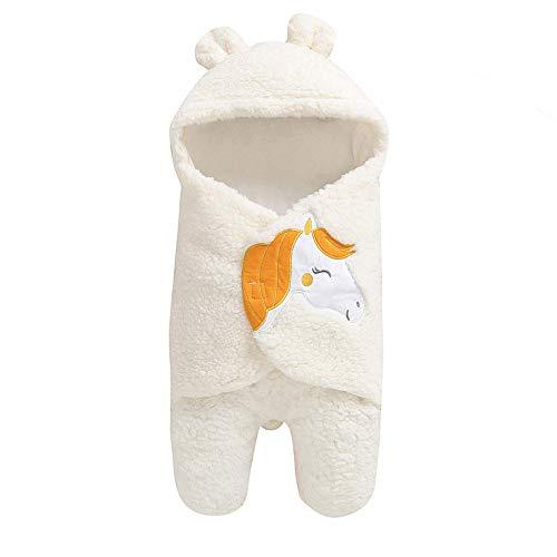 LianMengMVP Gigoteuse Hiver Idéale Nid d ange Bébé Couverture d emmaillotage Naissance à 6 Mois Sac de Couchage Chaud Cadeau Naissance en Coton