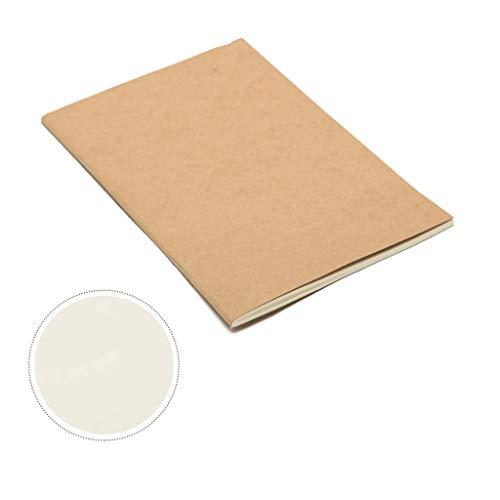 WPBOY Cuadernos Paquete de 10, con Destino a Rosca Cuaderno Diario cojín viajeros ¡Memo, tamaño A5 y 30sheetsBlank páginas, 5,4 'x8.2', Original Kraftnotebook Cuaderno de Moda