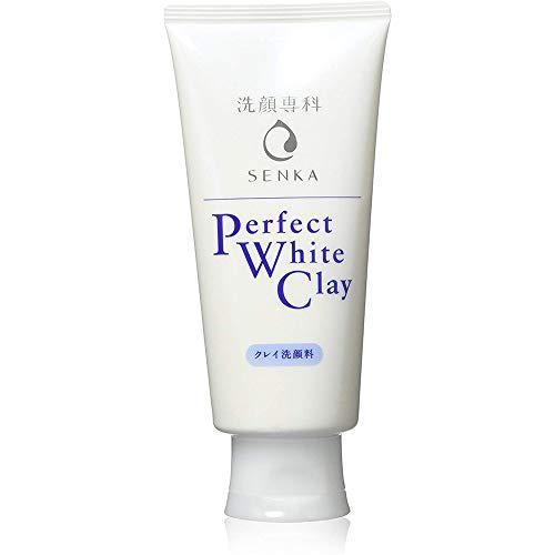 Shiseido Senka New Perfect White Clay - 120g (Green Tea Set)