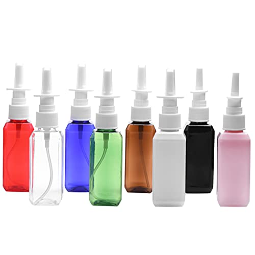 Gergxi Bouteille de stockage - 50 ml - Vaporisateur nasal vide - Vaporisateur nasal - Rechargeable - Livraison aléatoire