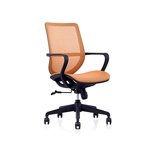GYZCZX Desk Chair Mesh Computer Chair with Lumbar Support Arms Modern Cute Swivel Rolling Task (Color : B)