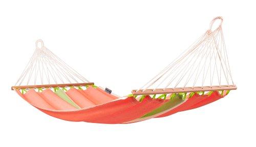 LA SIESTA Fruta Mango - Eenpersoons spreidstok hangmat outdoor