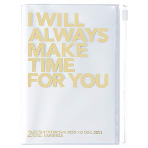 Mark's Europe 2020/2021 - Agenda tascabile verticale, formato A6, MAKE TIME Gold.