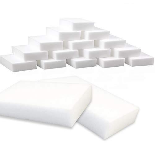 INT 20gomme magique éponges presque toutes les surfaces de nettoyage–Blanc de cuisine éponge de nettoyage–Voiture propre éponge–sans produits chimiques tache Nettoyant et Mark retrait
