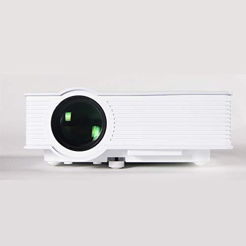 Qucking Light Proyector 1080P, Proyector De Cine En Casa Proyector Elephas Proyector GP-9 Proyector HD Proyector Micro LED Casero 1080P Decodificación Proyector De Entretenimiento