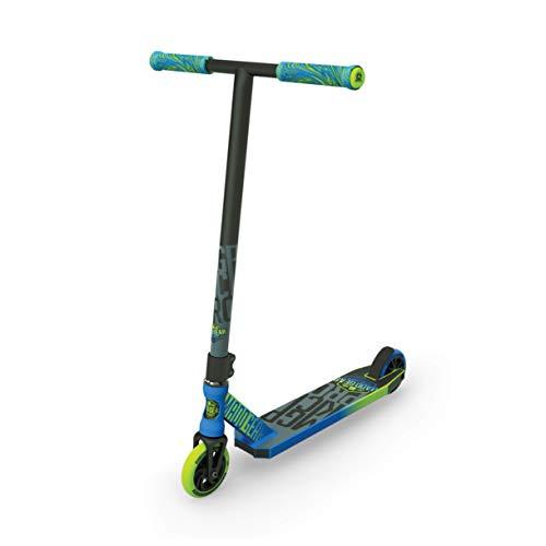 MADD Unisex Jugend Kick Pro Scooter, blau/grün, 78.5 cm