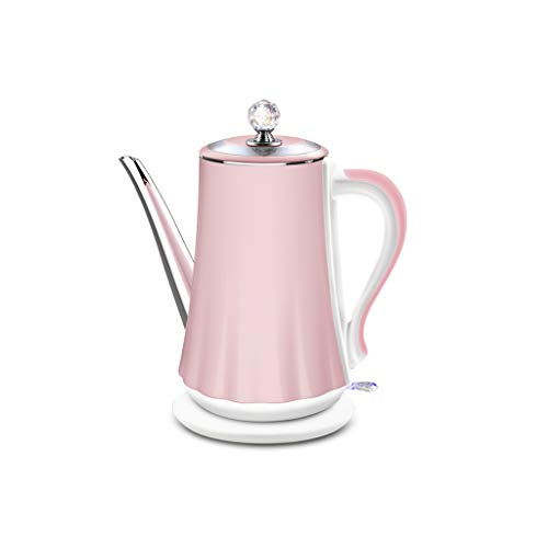 Electric Kettle Automatic Power Off Large Capacity 1500W Anti-scalding Insulation Integrated Stainless Steel 1.4L Pink