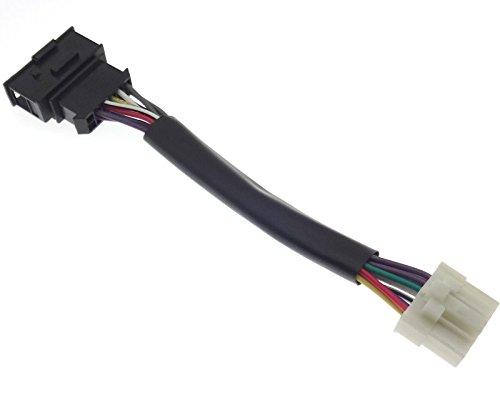 Câble adaptateur compatible avec changeur CD Panasonic CX-DP 600 803 9060 9061 MK88 - Compatible avec Audi Seat Skoda VAG