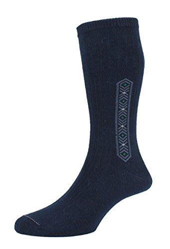riche en coton poly coton homme chaussettes 3,6 /& 12 Paires Designer Homme Chaussettes Taille 6-11