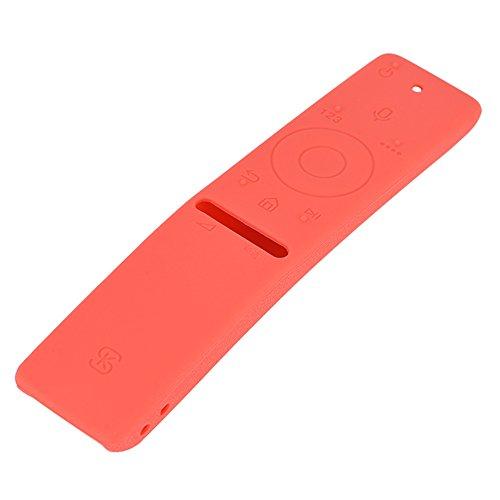 Pangding Remote Case, zachte siliconen rubberen stofdichte beschermhoes compatibel met Samsung TV afstandsbediening