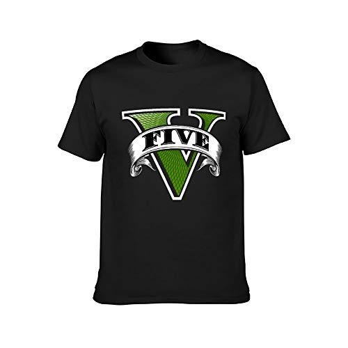 G-TA G-rand Theft Auto - Camiseta unisex de manga corta de algodón suave y cómoda