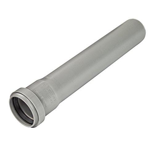 HT-Rohr, Abwasserrohr, Passlänge, Durchmesser DN 100mm, Länge 500mm