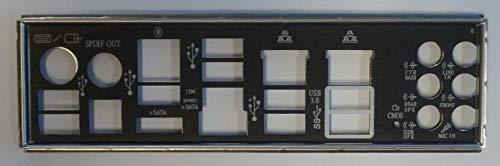 ASUS P8Z68 Deluxe Blende - Slotblech - I/O Shield