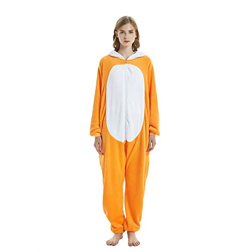 Missley Unicorn Pajama Adult Anime Cosplay Costume di Halloween Costume (M, Volpe)