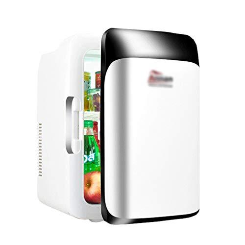 BYZHP Mini Nevera Mini Refrigerador Mini refrigerador 10L Refrigerador cosmético portátil Pequeño refrigerador más Caliente Nevera silenciosa para la Belleza Cuidado de la Piel en el hogar del hogar