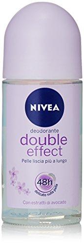 Nivea - nivea double effect roll-on 50ml - btsw-138008