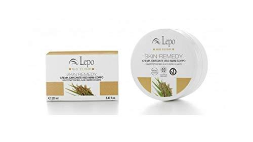 Lepo Skin Remedy - Crema Idratante Viso Mani Corpo - 250 Ml