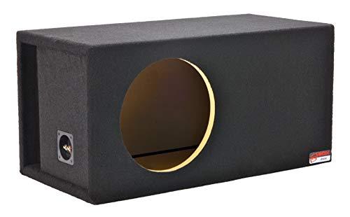 "Atrend 10LSVDD Digital Designs 10"" Single Vented SPL Subwoofer Enclosure fits 500, 1000, 1500, 2500 (type 1) and 3500 Series, black (FBA_10LSVDD)"