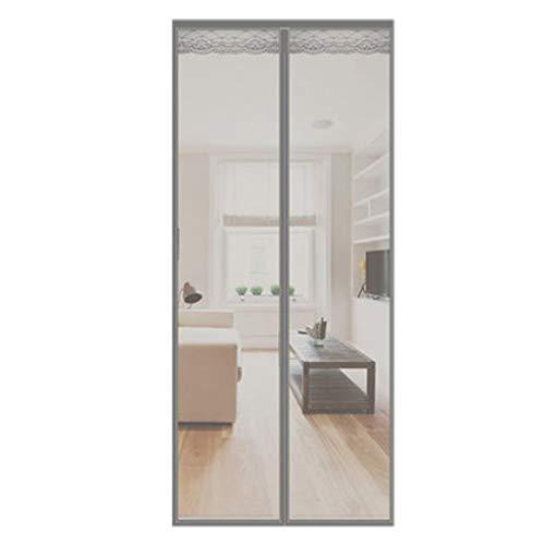 Mosquitera Puerta Magnetica Manos libres puerta de pantalla magnética, la cortina del...
