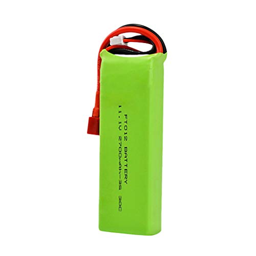 Fullfun 11.1V 2700mAH Battery Spare Part for Feilun FT012 RC Boat Lipo Battery